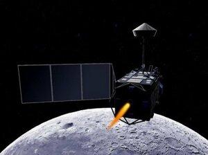 Китайский космический аппарат вышел на орбиту Луны