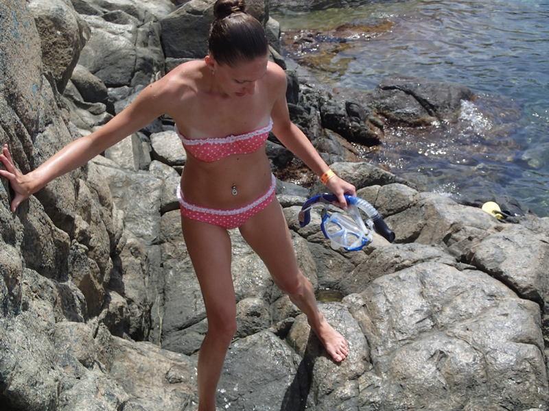 фото девушек маленькая грудь трусики №10