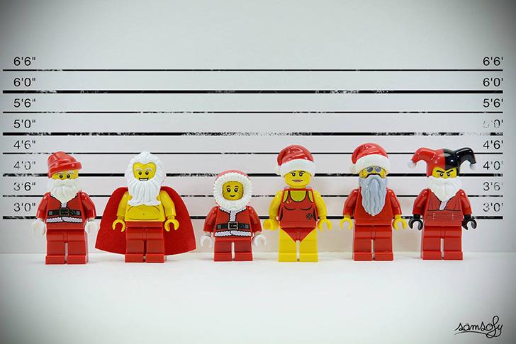 Тайная жизнь человечков из «Лего» (25 фото)