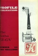 Книга The Gotha GI-GV (Profile Publications Number 115)