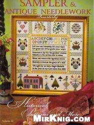 Журнал Sampler & Antique Needlework vol.32 2003