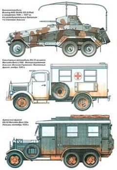 Полуторатонные грузовики Германии 1939-1945 гг