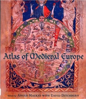 Книга Atlas of medieval Europe. London - New York, 1997.