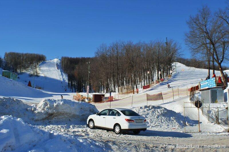 Соревнования по горным лыжам, Саратов, 17 февраля 2015 года