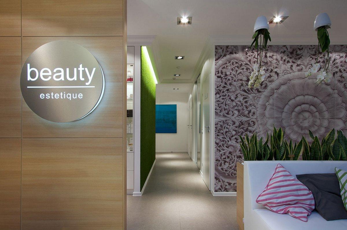 Svoya Studio, портфолио Svoya Studio, проекты Svoya Studio, интерьер салона красоты, примеры интерьера салонов красоты, Beauty Estetique