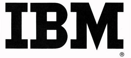 Третий логотип IBM (1956-1972)