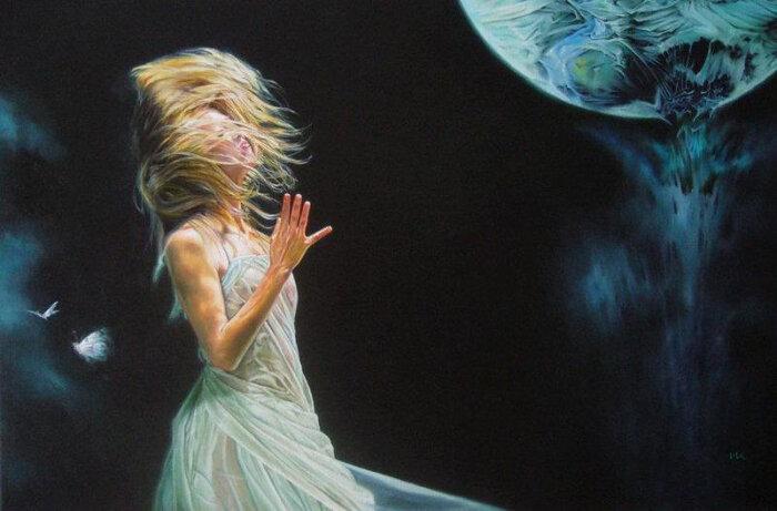 Разочарование! Я теперь как луна - ты как солнце...Wlodzimierz Kuklinski / Влодзимеж Куклински
