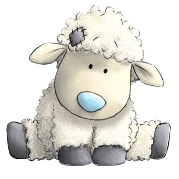 Прикольные рисунки овечки