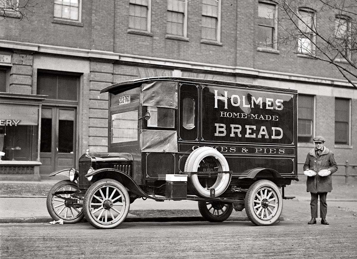 Специализированные транспортные средства начала 20-го века на снимках американских фотографов (42)