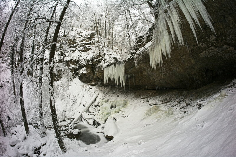 Водопад на руч. Задубнова Караулка