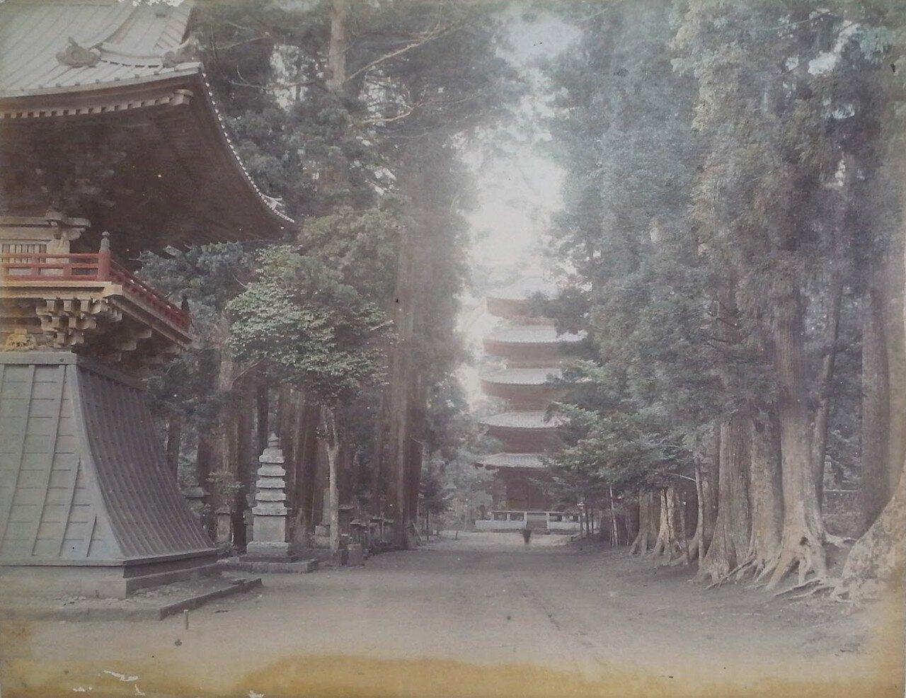 Общественный сад Уэно и пагода