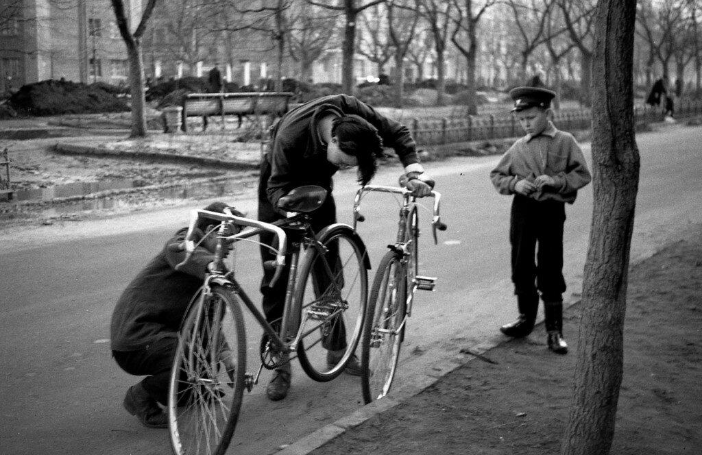Велосипедные разборки