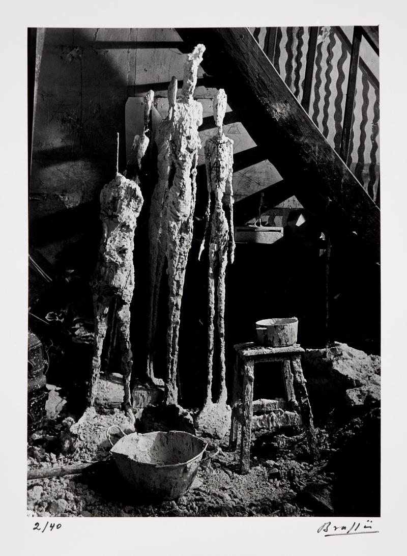 1948. В мастерской Альберто Джакометти