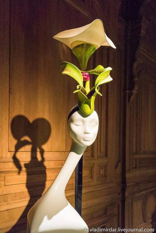 Орхидея Борнео. Неделя Высокой Моды. Париж. 2000.