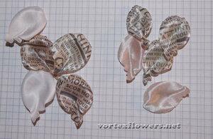 Мастер-класс. Роза  с газетным принтом «Lady Print» от Vortex  0_fc121_3325af46_M