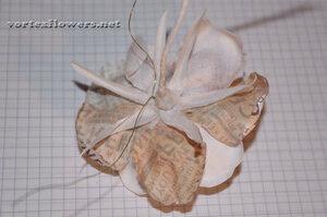 Мастер-класс. Роза  с газетным принтом «Lady Print» от Vortex  0_fc125_dd810fbe_M