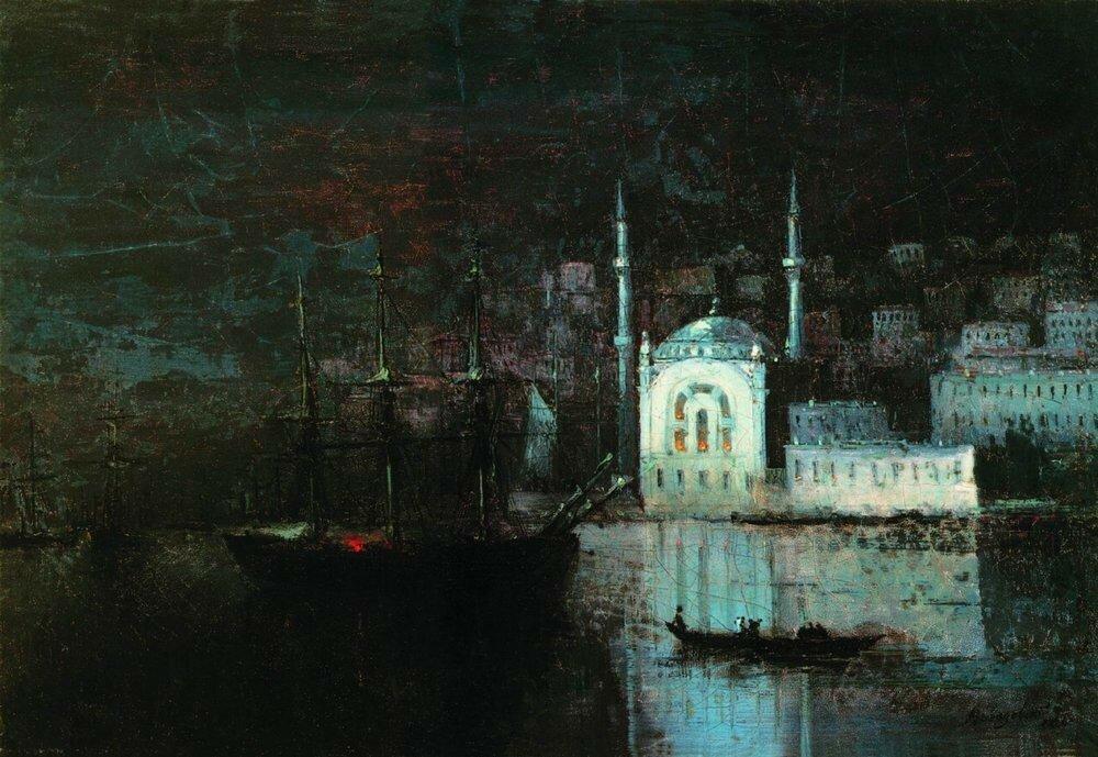 Ночной Константинополь. 1886.jpg