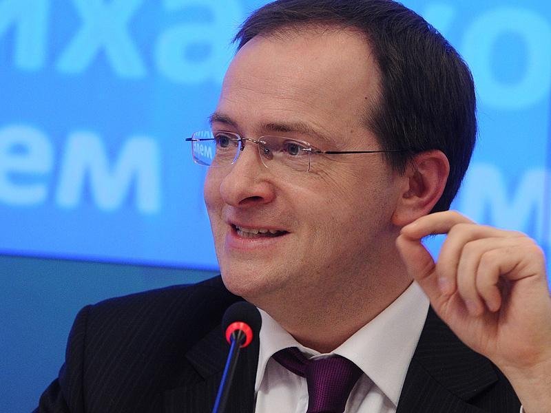 Пресс-конференция Д.Ливанова и В.Мединского прошла в Москве