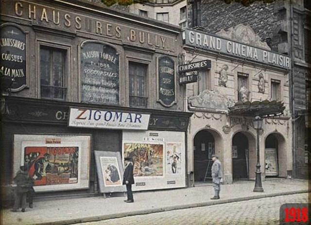 Париж в 2013 году и сто лет назад