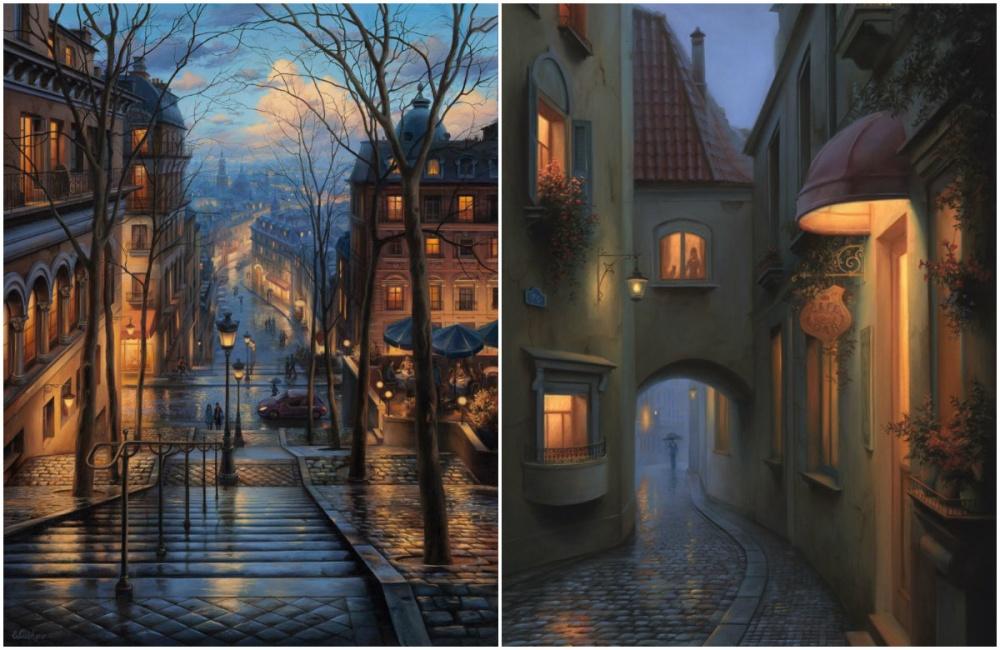 Евгений Лушпин поправу считается одним излучших российских художников современности. Для своих раб