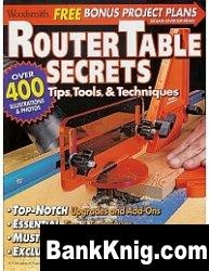 Журнал Woodsmith Special Publication - Router Table Secrets. Tips Tools & Techniques