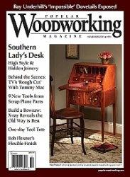 Журнал Popular Woodworking №193 November 2011