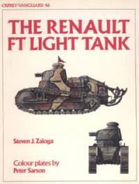 Книга Osprey Vanguard 46_The Renault FT Light Tank