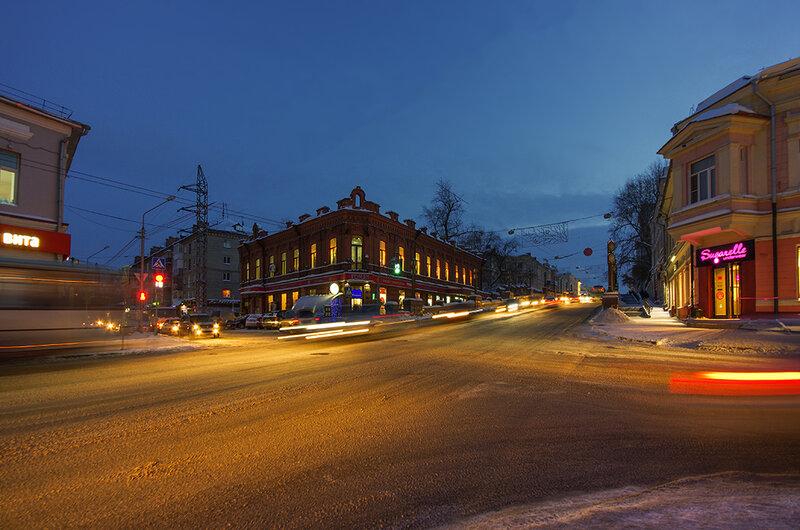 Вечером по Томску