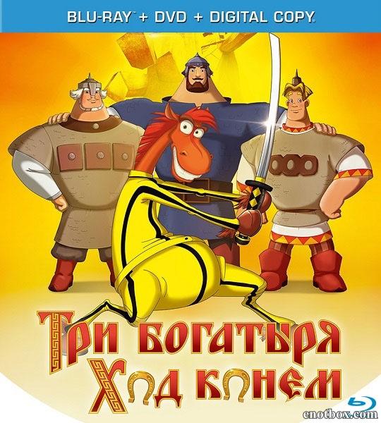 Три богатыря: Ход конем (2014/Blu-Ray/BD-Remux/BDRip/HDRip/3D)
