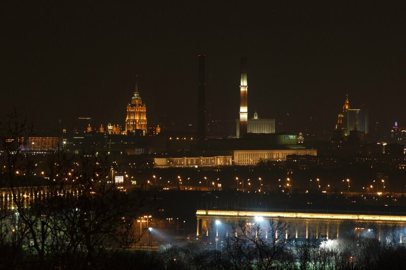 Высотки, Москва