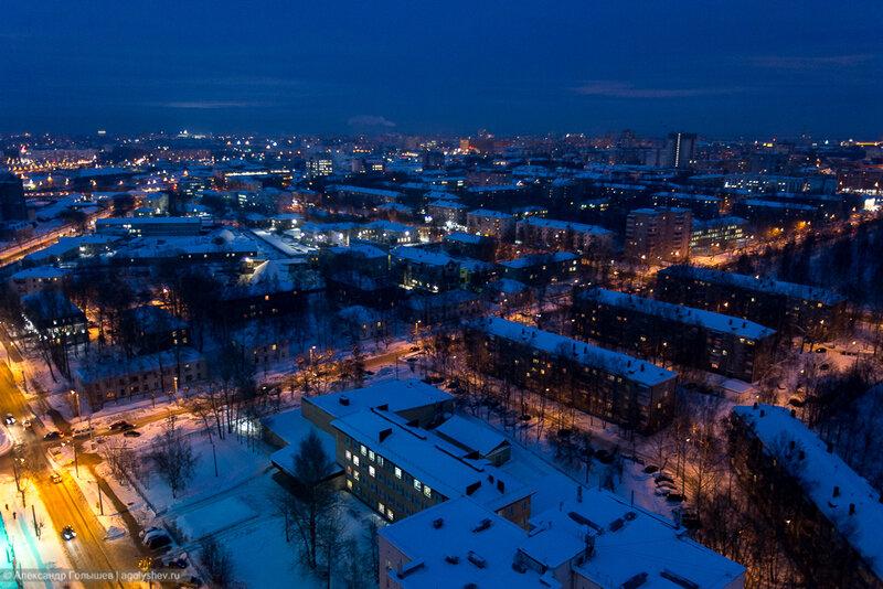 Киров с крыши