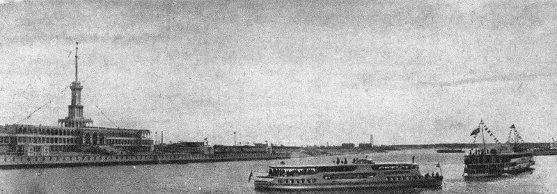 41 2 мая 1937 Химкинский речной вокзал Журнал 'Техника-Молодежи' 1937 №6.jpg