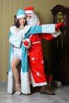 Танцующая  Снегурочка и Дед Мороз!