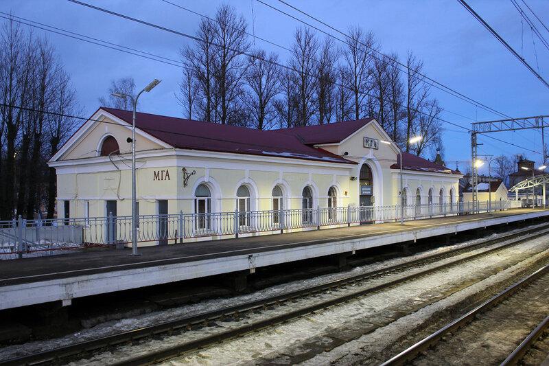 Вокзал на станци Мга