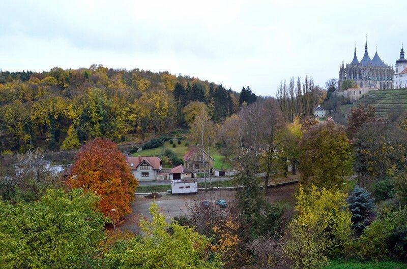 Осень в Кутной Горе