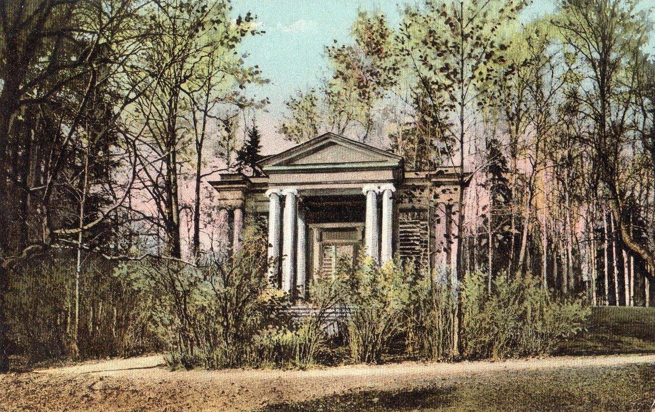 Портал «Маска» и Березовый павильон