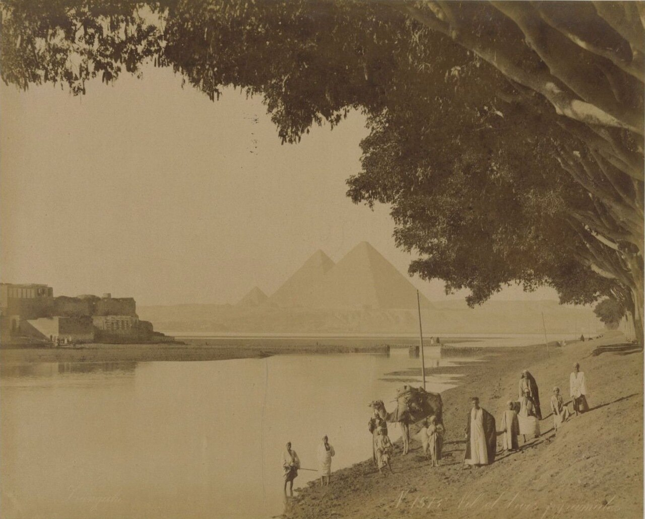 Гиза. Нил и пирамиды