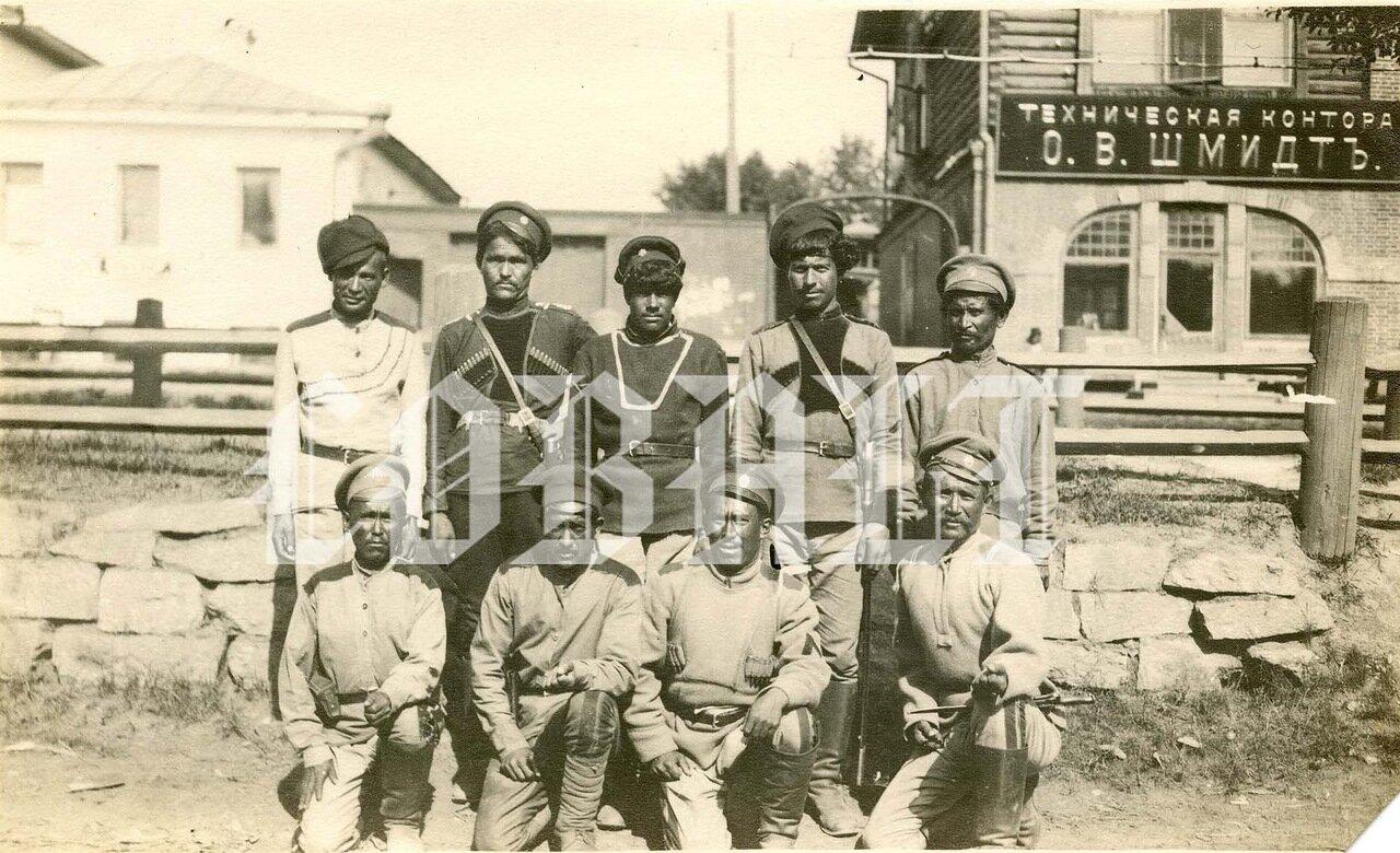 Анненковцы, Екатеринбург. июль 1919 года