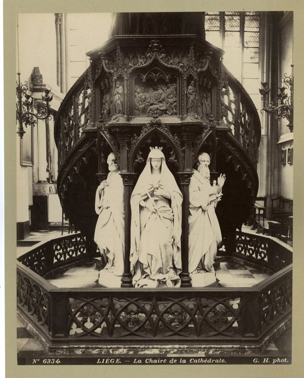 Льеж. Кафедра собора