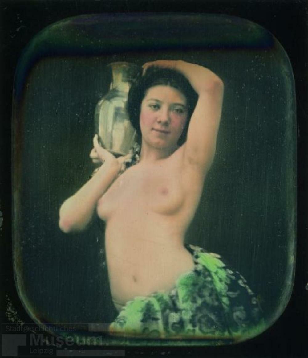 1850-е. Обнаженная с кувшином