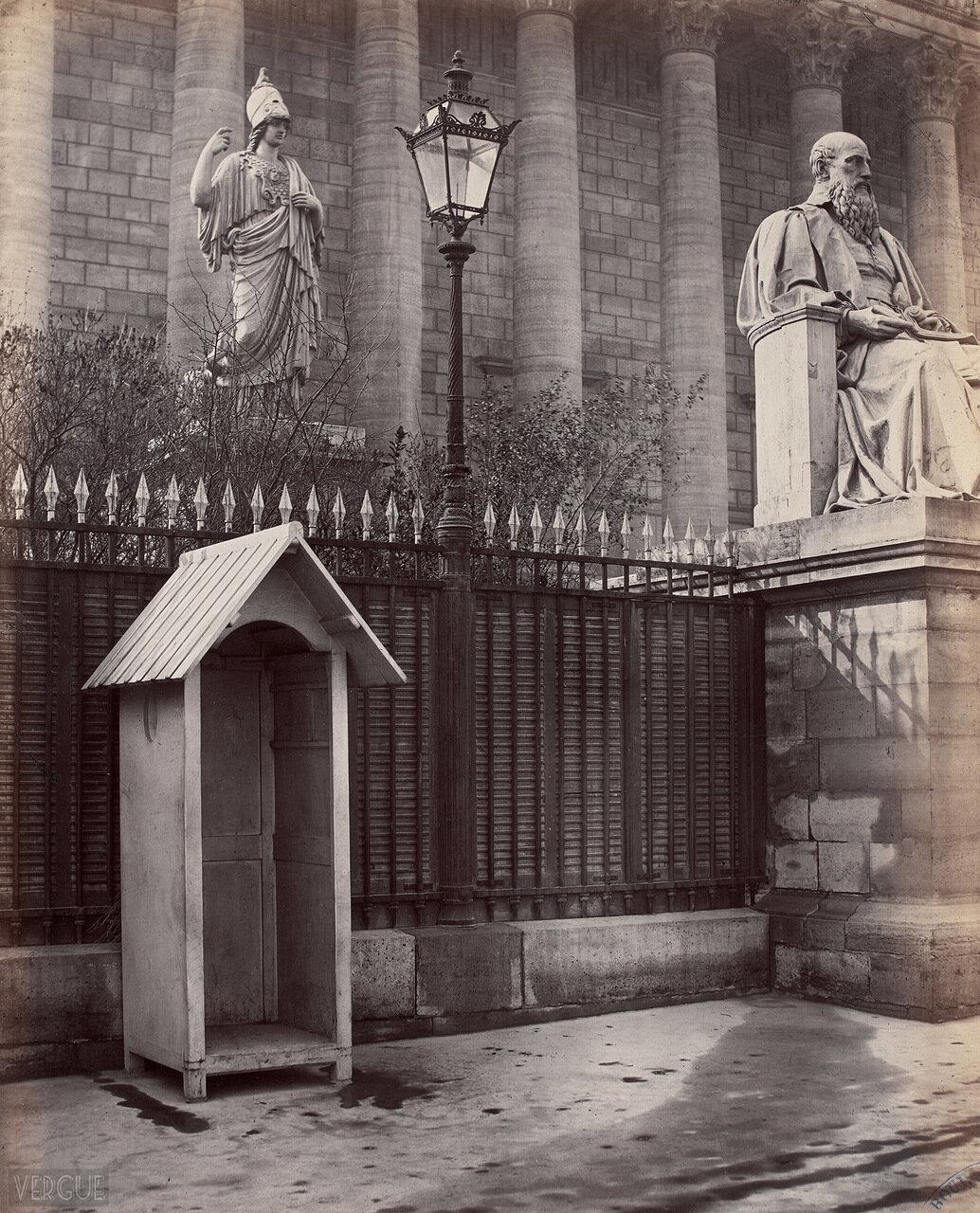 Газовый фонарь у Законодательного собрания. 1870