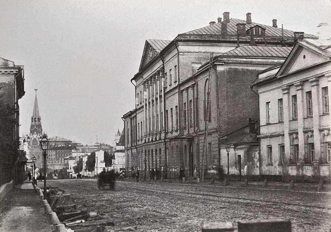 195. Воздвиженка. Усадьба Талызиных. 1889