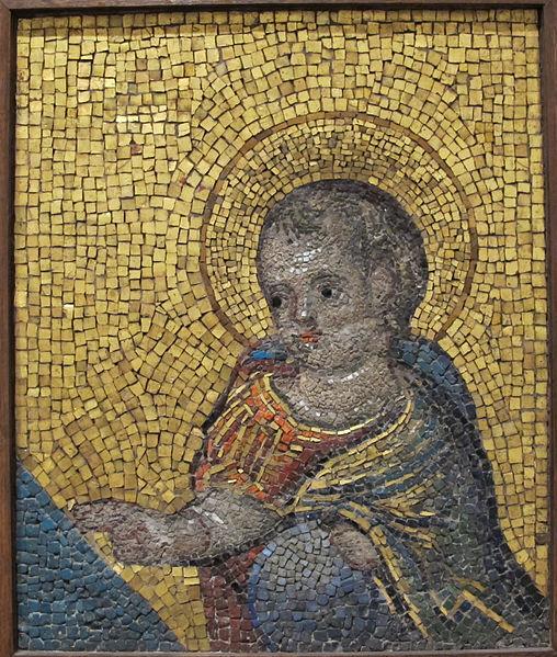 508px-Jacopo_torriti,_cristo_bambino,_frammento,_XIII_sec.JPG