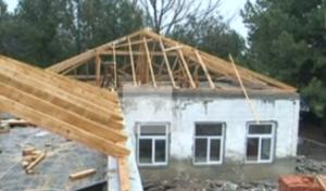 Детский сад в Глодянском районе затопило водой