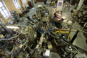 Двое молдаван украли 5 тонн меди с термоядерной установки