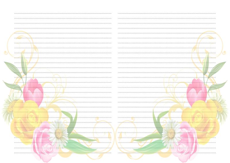страницы для блокнота шаблоны