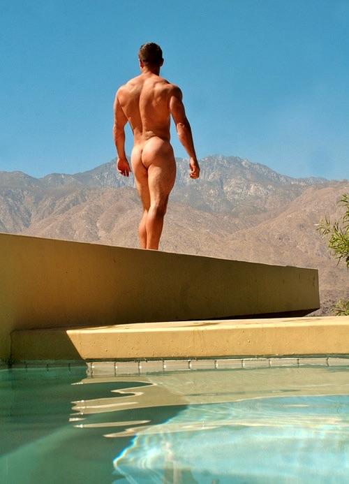 бассейн в горах