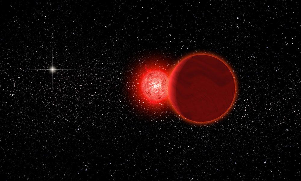 Недавно в границы Солнечной системы вторглась другая звезда