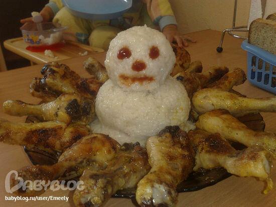 Снеговик-зомби