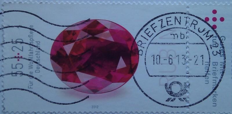 2012 Драгоценные камни рубин 55